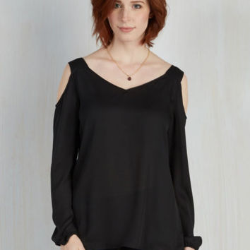 Boho Mid-length Long Sleeve Shoulder to the Zeal Top