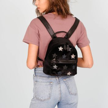 Playful Patchwork Mini Backpack