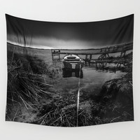 On the wrong side of the lake 16 Wall Tapestry by HappyMelvin