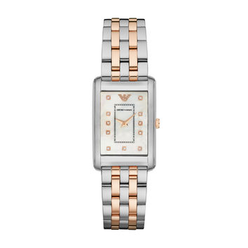 ARMANI WATCH SIGNATURE WOMEN DRESS STAINLESS STEEL MARCO STAINLESS STEEL AR1905