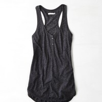 AE Henley Tank, Sunsational | American Eagle Outfitters