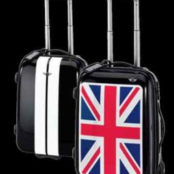 MINI Cooper Union Jack Rolling Cabin Trolley Suitcase