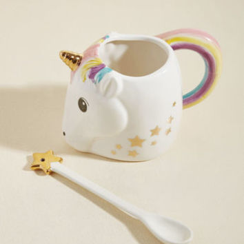 Just Add Magic Mug & Spoon Set