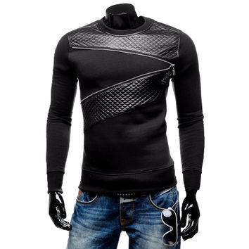 Lisli Mens Casual Slim Fit Baseball Sleeve Henley T-Shirts Black Casual Clothes For Men High Quality Winter Spring 01S0335