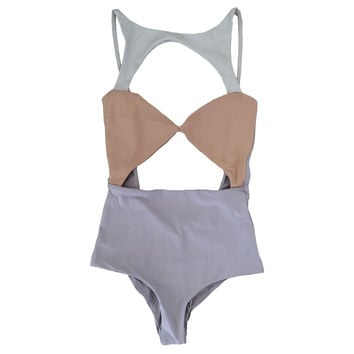 Boys + Arrows: CHAMPAGNE CHARMAINE ONE PIECE - OMBRE