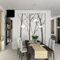 Fast Shipping Trees Hight 200cm DIY Decorative by diywallsticker