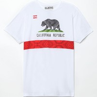 Billabong Bear Bound T-Shirt - Mens Tee - White