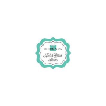 Bride & Co Frame Personalized Labels