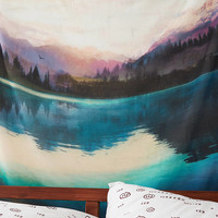AEO APT Lake Scene Tapestry, Multi