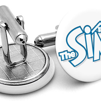The Sims Logo Cufflinks