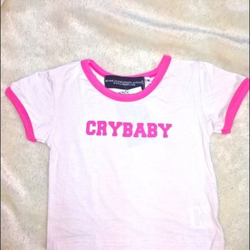 SWEET LORD O'MIGHTY! CRYBABY RINGER TEE