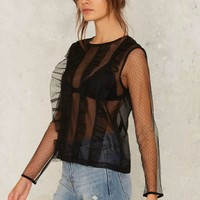 West End Girls Lace Top