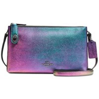 COACH CROSBY CROSSBODY IN HOLOGRAM LEATHER | macys.com