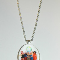 The Spice Girls  Glass Pendant Necklace