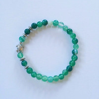 Sea Turtle Beaded Bracelet