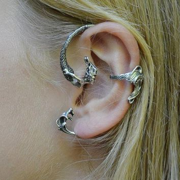 Mermaid ear cuff