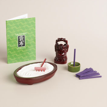 Ho-Tei Mini Zen Buddha Meditation Kit - World Market