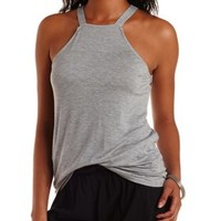 Caged Racerback Tank Top by Charlotte Russe