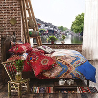 Unique Colorful Boho Bedding Fashion Bohemian Bedding Sets