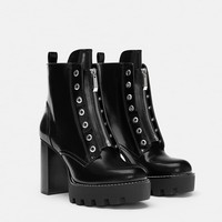 TRACK SOLE ANKLE BOOTS - NEW IN-TRF | ZARA United States