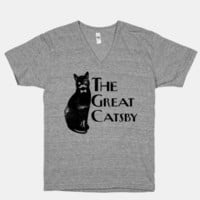 The Great Catsby (V-Neck) | HUMAN