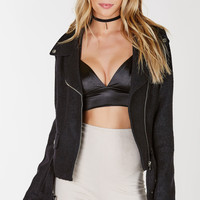 Alley Cat Wool Moto Jacket