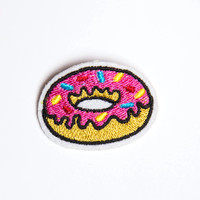 Donut Patch Pin