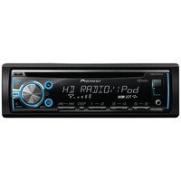 Pioneer Single-din In-dash Cd Receiver With Mixtrax, Hd Radio, Usb, Pandora Ready, Android Music Support & Color Customization