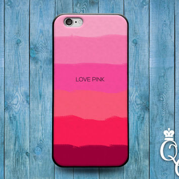iPhone 4 4s 5 5s 5c 6 6s plus iPod Touch 4th 5th 6th Generation Cover Beautiful Pink Pattern Love Cute Custom Pretty Phone Case Girly Girl +