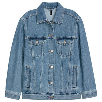 Denim jacket - Denim blue - Ladies | H&M GB