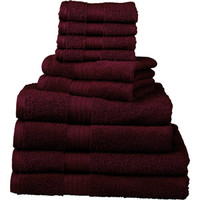 Walmart: Divatex 10-Piece Deluxe Towel Set
