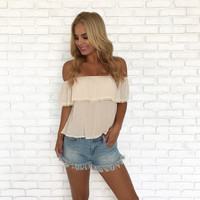 Purely Natural Off Shoulder Top