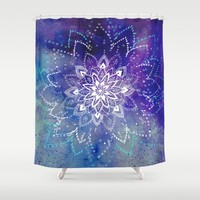 Just Breathe Shower Curtain by rskinner1122