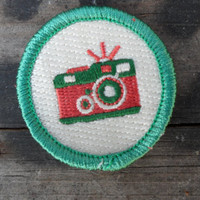 Camera / Photography 'Shutterbug' Scout-Style Merit Badge