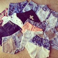 Customize Your Own Shorts hipster tumblr