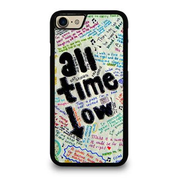 ALL TIME LOW COLOUR iPhone 7 Case Cover