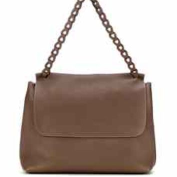 Top Handle 14 leather bag