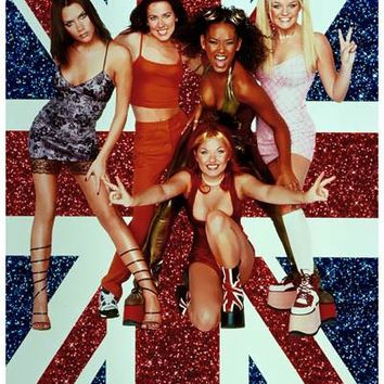 Spice Girls Union Jack Poster 11x17