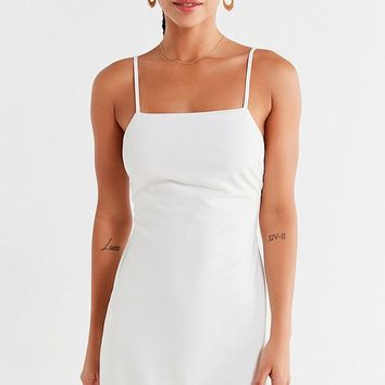 UO Bodycon Tie-Back Mini Dress | Urban Outfitters Canada