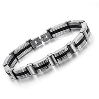 Shiny New Arrival Gift Hot Sale Great Deal Stylish Awesome Men Titanium Accessory Bracelet [10783257539]