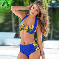 swimsuit   high waist swimsuit   bikini set swimsuit women swimwear 2016 bathing suit push up bikini plus size  swimming suit