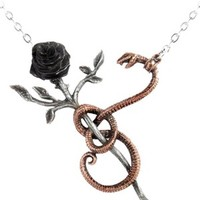 Alchemy Gothic | A Rose for Eve Necklace - Tragic Beautiful buy online from Australia