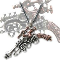 Alchemy Gothic The Duellist Cantosonic Wave Gun Necklace