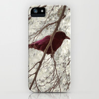 The Crow iPhone & iPod Case by Pascal Deckarm Fine Art