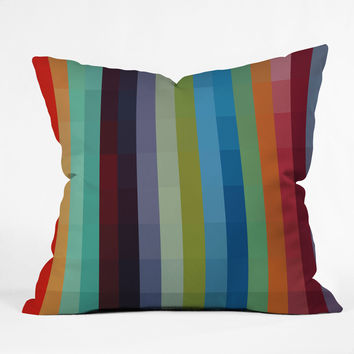 Madart Inc. City Colors Outdoor Throw Pillow