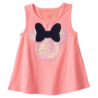 Disney's Minnie Mouse Toddler Girl Lace Back Tank Top by Jumping Beans®