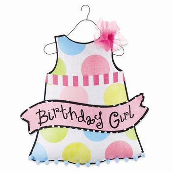 Birthday Wishes Birthday Girl Door Hanger