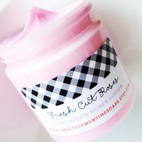 Fresh Cut Roses Lotion - Goat's Milk and Honey Hand and Body Lotion