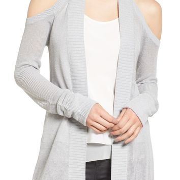 Chelsea28 Cold Shoulder Cardigan | Nordstrom