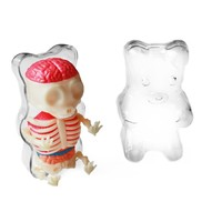 Miniature Gummi Bear Funny Anatomy